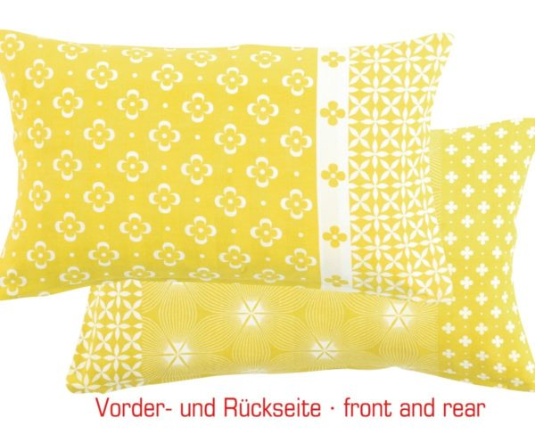 Overbeck and Friends Kissenhülle Liv gelb
