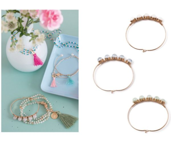 Overbeck and Friends 3er Set Armbänder Romy