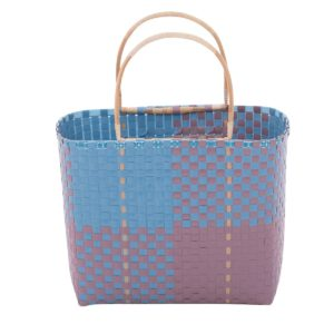 Overbeck and Friends Shopper blau-taupe
