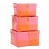 Overbeck and Friends Spielzeugkiste Ines pink-orange