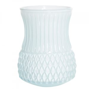 Overbeck and Friends Vase Flora opal aqua