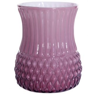 Overbeck and Friends Vase Flora opal violett